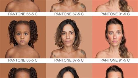 artist wants to map every single human skin tone on earth artist wants to map every single human skin tone on earth