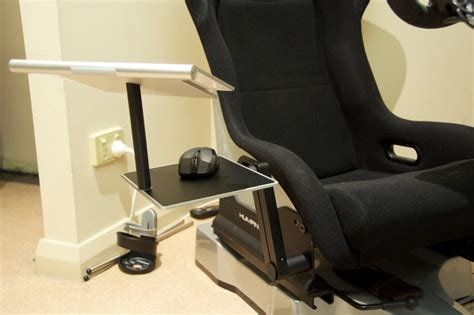 keyboard and mouse stand for couch humanracing gt chassis keyboard and mouse tray updated 16