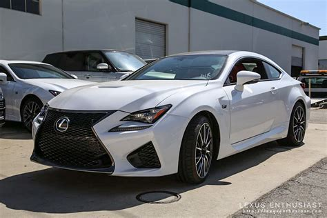 white lexus photo gallery ultra white lexus rc f in california