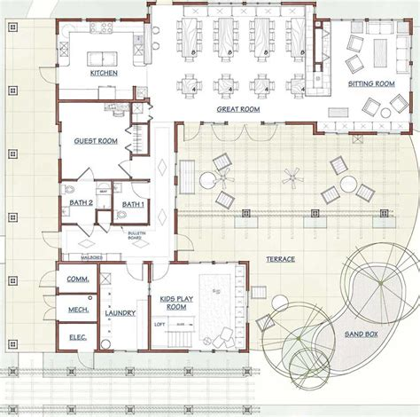 common house floor plans fresno cohousing the common house is the of the