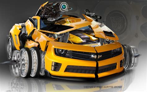 Transformer Auto by Bumblebee 2015 Wallpapers Hd Wallpaper Cave