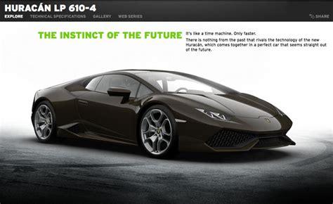 Lamborghini Huracan Ad Lamborghini Huracan Configurator Launched 187 Autoguide News