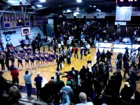 Hollinger Field House by West Chester 54 Indiana Pa 51 Post Celebration