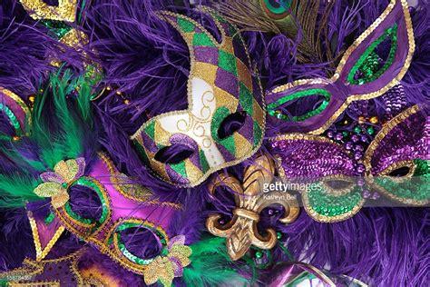 mardi gras photos mardi gras carnival masks stock photo getty images