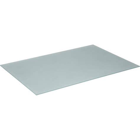 plateau en verre seul pour table basse en rotin kooboo