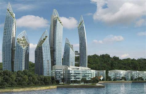 Home Design Building Blocks daniel libeskind s reflections at keppel bay singapore