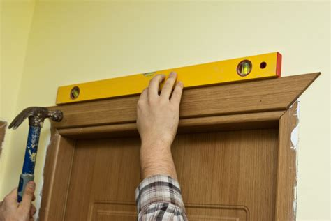 Install Door Trim by Installing Door Casing Howtospecialist How To Build