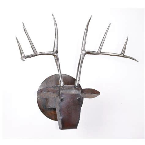 wall decor sculpture large deer by ben gatski and kate gatski metal wall