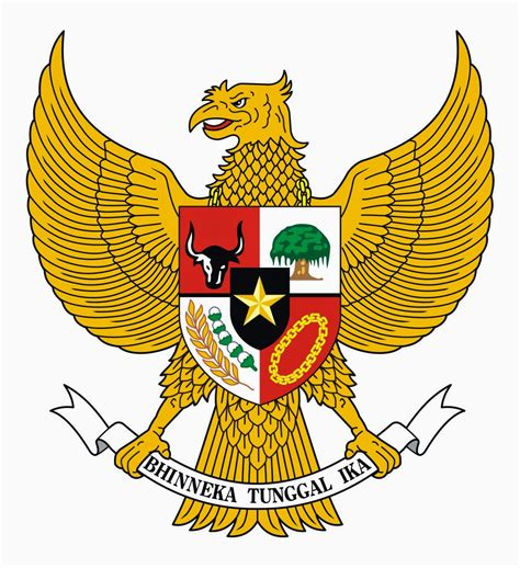 Garuda Pancasila krist vector garuda pancasila