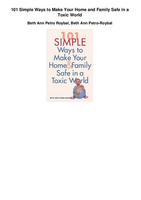 7 Methods To Make Your Home Safer by 101 Simple Ways To Make Your Home And Family Safe In A