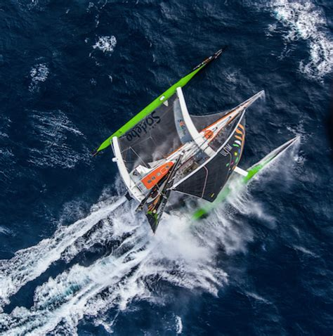 trimaran around the world sailing news around the world record maxi trimaran