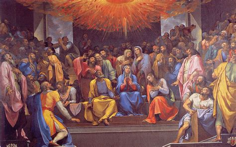 The Apostle Of Holy Motherhood on pentecost it was the gifts of the holy spirit that and the apostles were waiting for
