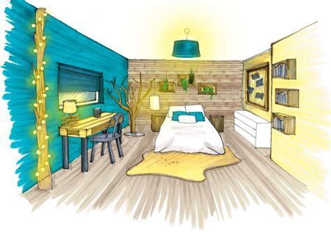 architecte d int駻ieur chambre dessin design int 233 rieur architecture perspective ozladeco