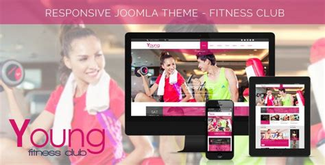 themeforest fitness young fitness spa fitness joomla template 3 x free