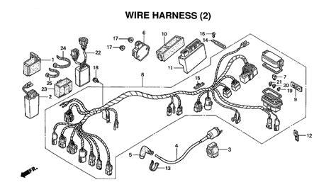 honda rancher 350 fuse box wiring diagrams wiring