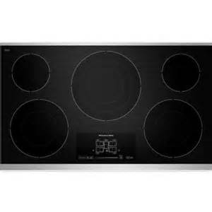 kitchenaid gas on glass cooktop new kitchenaid 36 quot glass electric cooktop stove black