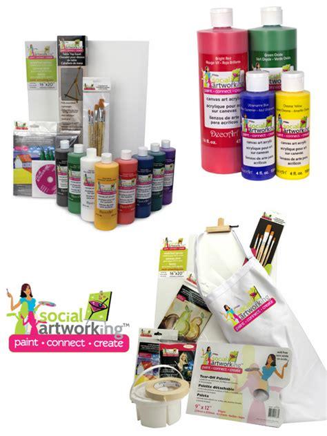 paint nite supplies giveaway ideas supplies ideas