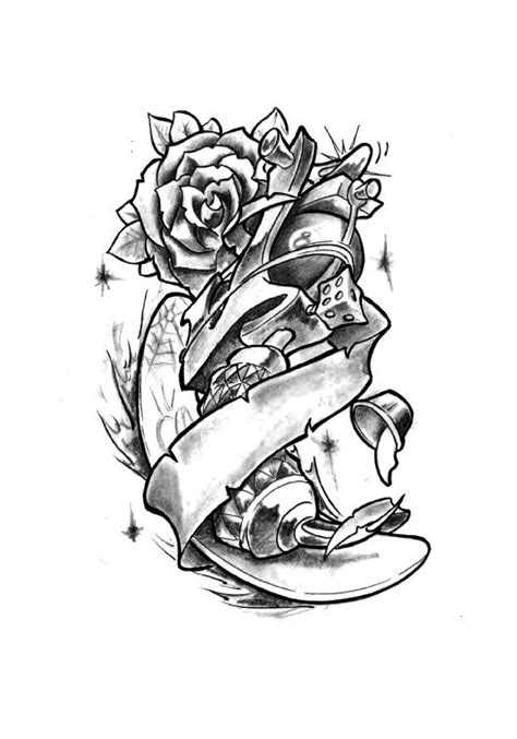small new school tattoo new school gun by mes74 on deviantart
