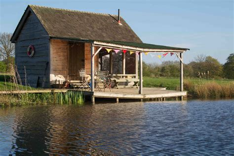 Fishing House by Stay On A Farm In Kent Lakeside Fishing Shack At Brick