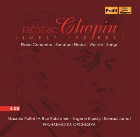 chopin the best chopin simply the best cd profil ph15012
