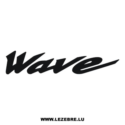 Honda Wave Sticker honda wave decal