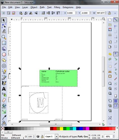 inkscape tutorial cz generating a engraving g code using inkscape step by step