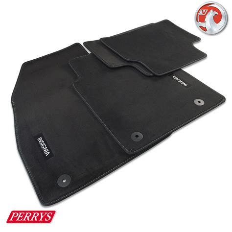 Insignia Car Mats vauxhall insignia estate tailored black velour front rear