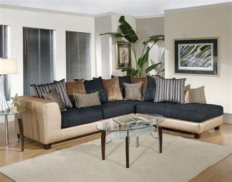 multi color sectional sofa multi color fabric modern sectional sofa w optional ottoman