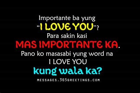 Letter Quotes Tagalog Letters For Him Tagalog Quotes For