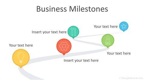 milestone chart templates powerpoint milestones powerpoint template templateswise