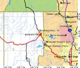 woodland park colorado co 80863 profile population