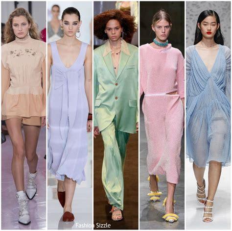 biggest trends of spring 2018 fashion magazine spring 2018 runway fashion trend pastels fashionsizzle