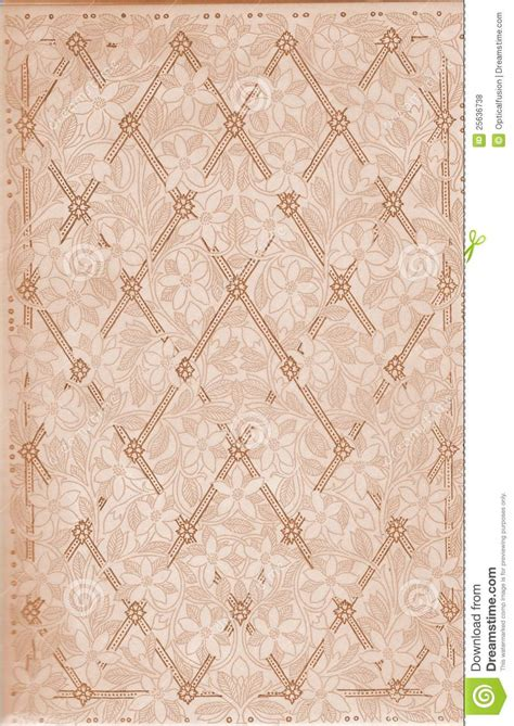 pattern paper vintage vintage floral and lattice pattern paper from book royalty