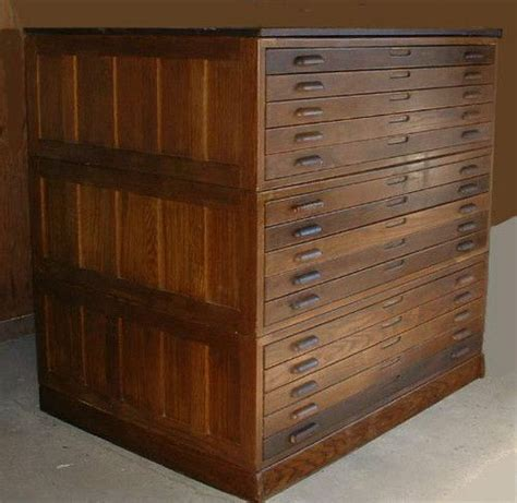 vintage flat file cabinet flat file cabinets wood search cnc
