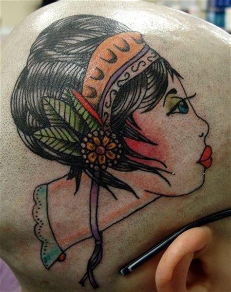 tatuaggi testa 82 tatuaggi sulla testa con molti dettagli