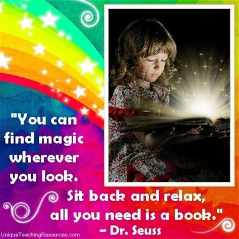 always look for the magic books 40 dr seuss quotes free posters and