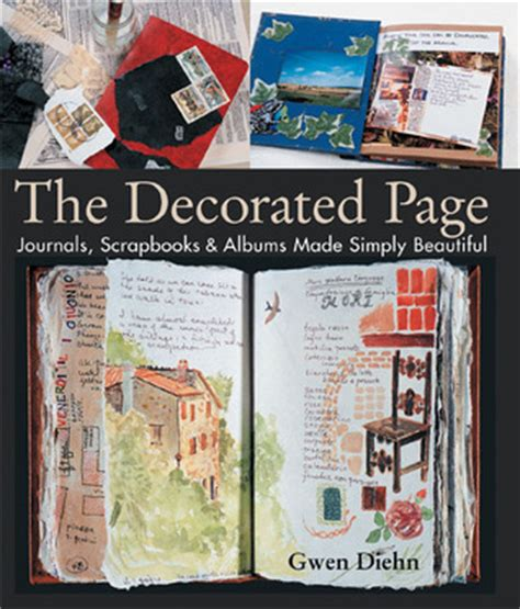 Decorating Ideas For Journals The Decorated Page Journals Scrapbooks Albums Made
