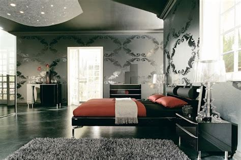 black and red bedrooms contemporary black and red bedroom design ideas
