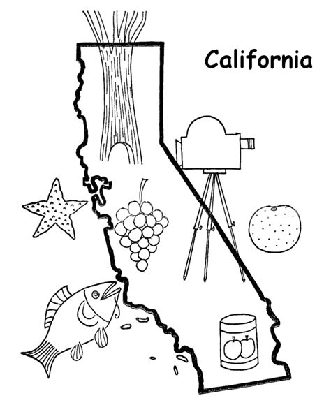 california map coloring page az coloring pages