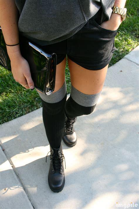 thigh high socks and skirt imgpile