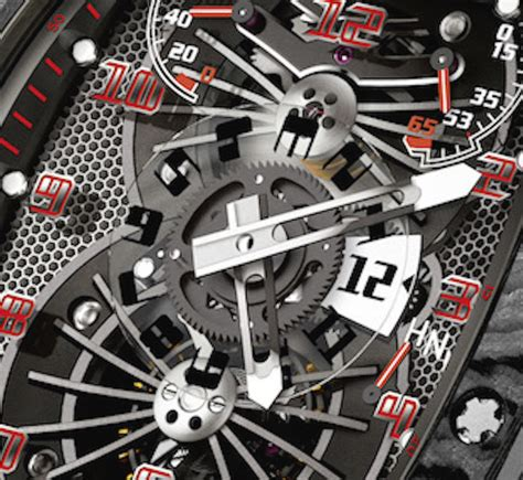 Ntpt Carbon Limited Edition Movement Custom Modified Swiss 7750 F 1 up with richard mille s rm 022 tourbillon aerodyne dual time black carbon it s one of a