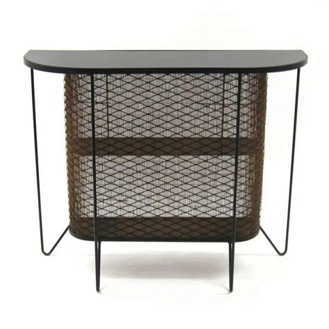 Fredericks Furniture by Frederick Weinberg Iron And Bamboo Bar For Sale At 1stdibs