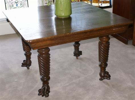 solid oak antique kitchen table for sale