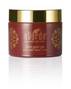 Cherry Spa Gel By Syb With Gluthation 24 carat gold gel anti aging lotion gold gel