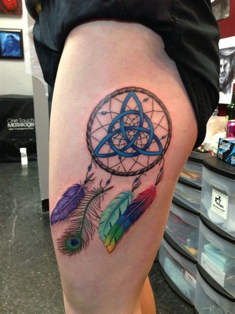 colorful dreamcatcher tattoos and colorful dreamcatcher for my birthday it