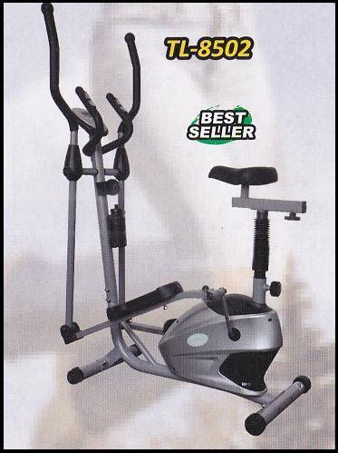 Sepeda Statis Elliptical Small Crosstrainer Tl 8502 Bayar Di Rumah sepeda statis small crosstrainer tl 8502