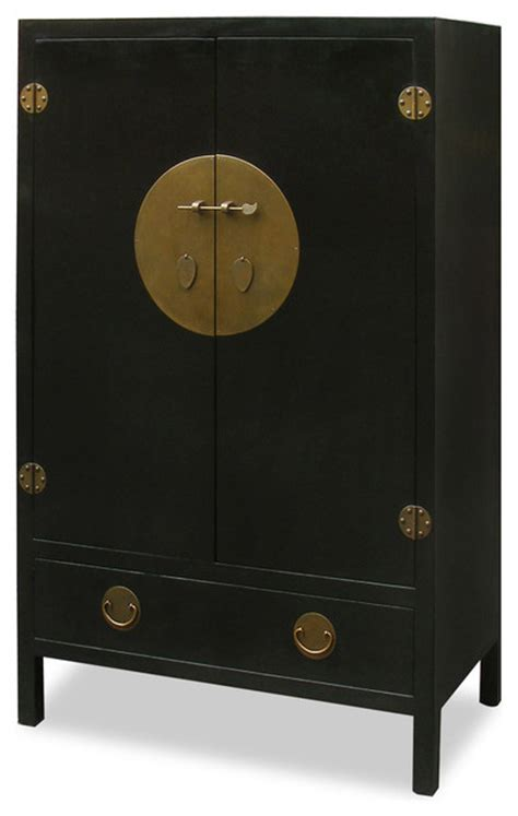 elmwood ming style tv armoire storage cabinets