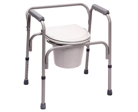 3 in 1 commode commode steel 3 in 1 essential supply