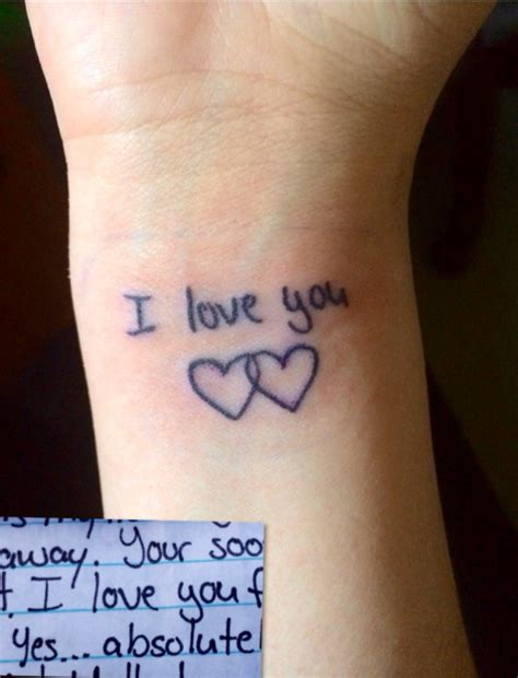 20 i love you tattoos on wrists
