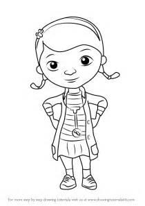 learn draw doc doc mcstuffins doc mcstuffins step step drawing tutorials